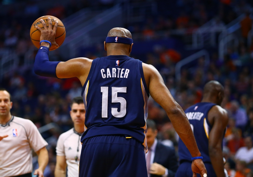 brand new b68da 9e419 Video: Vince Carter Brought to Tears After Raptors Tribute Video