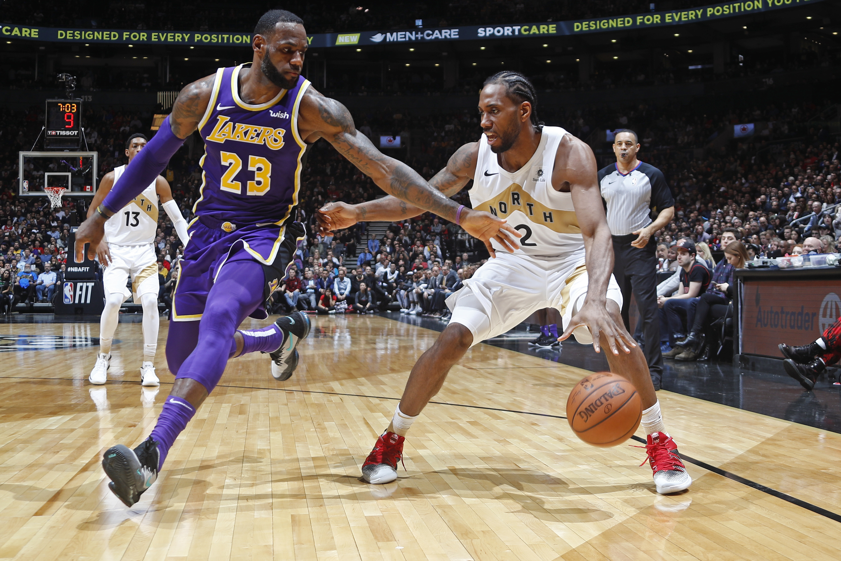 How Does The Lakers Clearing Cap Space Affect The Toronto Raptors