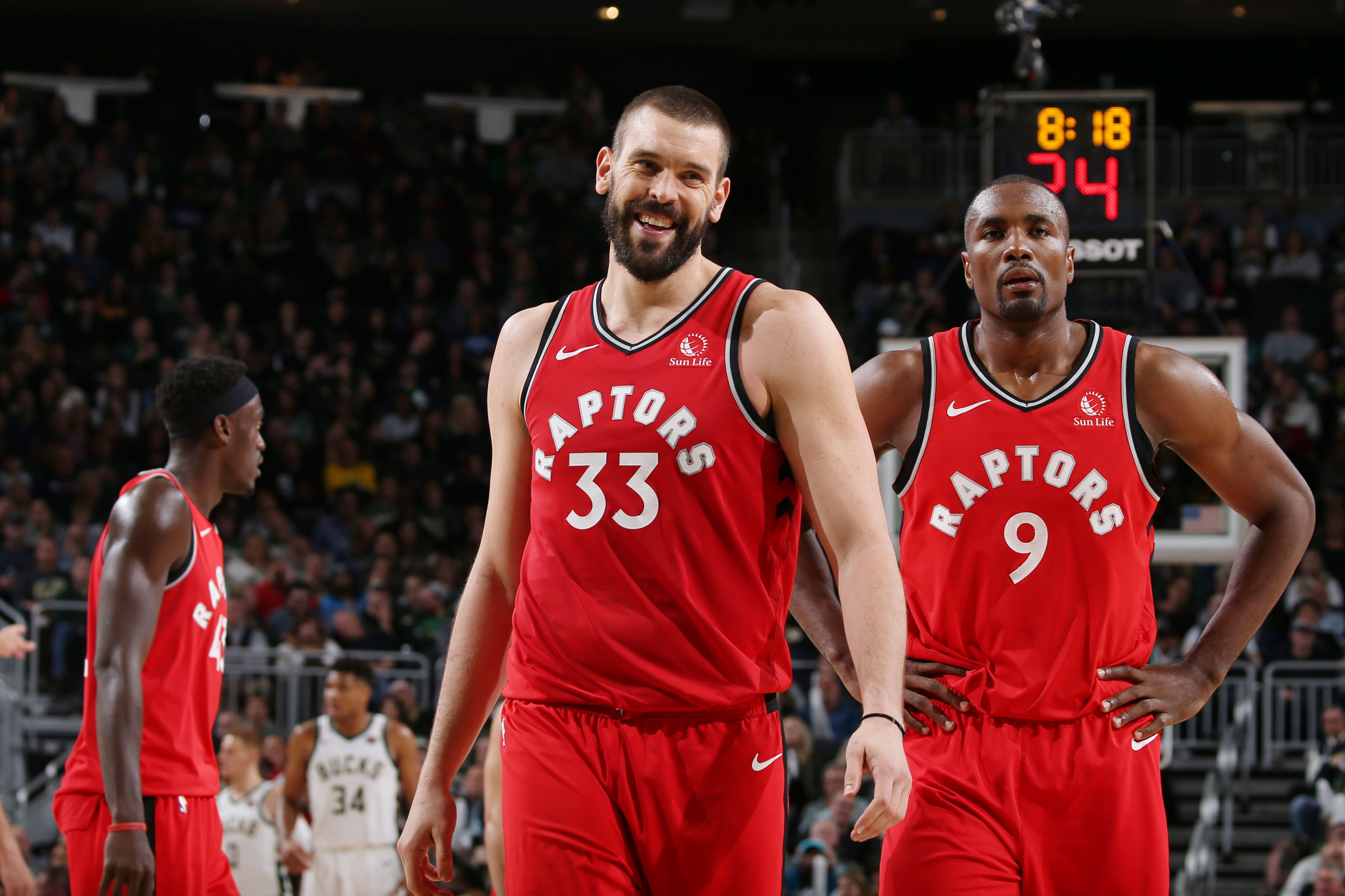 Should the Toronto Raptors trade Marc Gasol or Serge Ibaka?