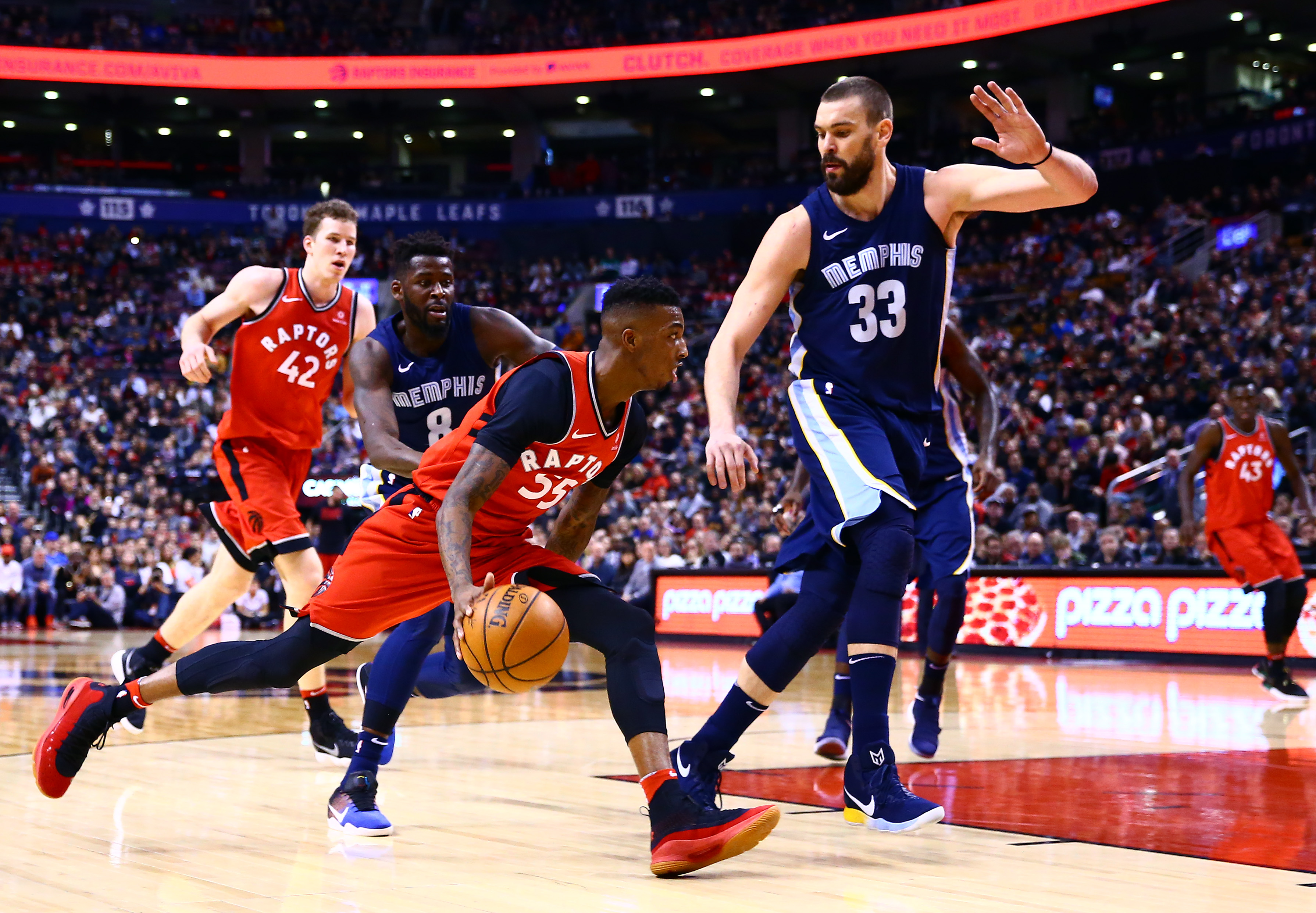Wright scores 15 off the bench; Raptors top Grizzlies, 101-86